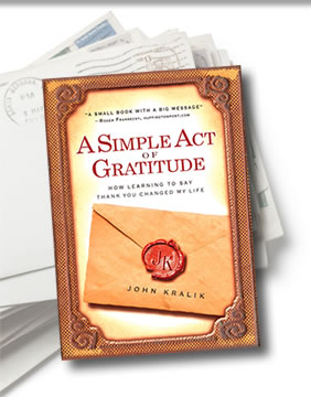 About the Book - A Simple Act of Gratitude image
